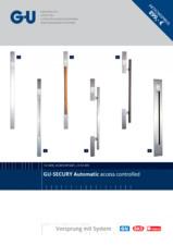 Sistem de acces prin scanare amprenta G-U BKS