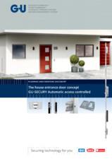 Control acces automat pentru usi de intrare G-U BKS