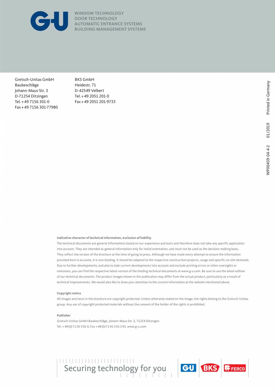 Pagina 16 - Operator pentru usa batanta - DTN 80 GU Automatic Fisa tehnica Engleza ice engineers...