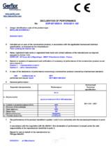 Certificat DoP - Pardoseala antistatica Gerflor