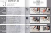 Modalitati de montaj pentru pardoseala PVC pentru amenajari de lux Gerflor