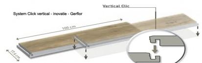 Pardoseala PVC pentru amenajari de lux  / Pardoseala PVC pentru amenajari de lux - Creation 55 Click System