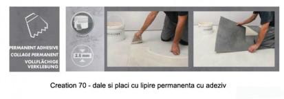 Pardoseala PVC pentru amenajari de lux  / Pardoseala PVC pentru amenajari de lux - Creation 70