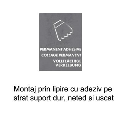 Paletar pentru pardoseala PVC - amenajari de lux / Montaj cu lipire permanenta