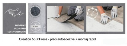 Placi autoadezive / Placa autoadeziva - Creation 55 X'Press