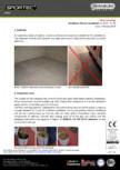 Recomandari de instalare pentru pardoseli din cauciuc  Sportec - Sportec Color 15