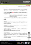 Instructiuni de curatare si ingrijire pentru pardoseli din cauciuc  Sportec - Sportec Color 15