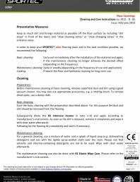 Instructiuni de curatare si ingrijire pentru pardoseli din cauciuc