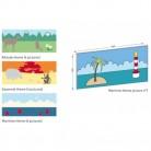 Model tematic - Panou Decofresc - protectie perete decorativa