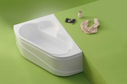 Cada cu laturi inegale Ela  ELA Cazi de baie