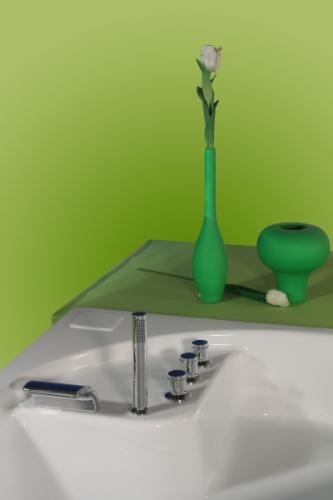 Cada de baie cu laturi inegale Ingrid  INGRID Cazi de baie