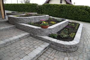Jardiniere Pe cat de functional, pe atat de placut estetic, kit-ul pentru gradina Yucatan este ideal pentru o amenajare simpla, in comuniune cu restul designului.