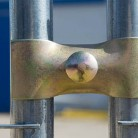 Coliere prindere garduri mobile - Garduri mobile pentru imprejmuiri de santier BULLONI