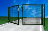 Porti de acces metalice batante BULLONI