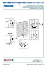 Montaj accesorii de siguranta la gardurile mobile HERAS