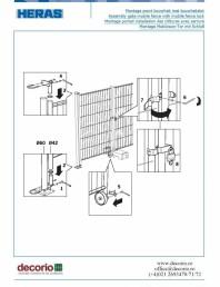 Montaj accesorii de siguranta la gardurile mobile