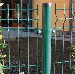 Panouri si stalpi pentru garduri metalice BULLONI