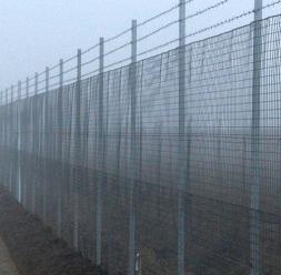 Plase zincate pentru garduri metalice FRIGERIO