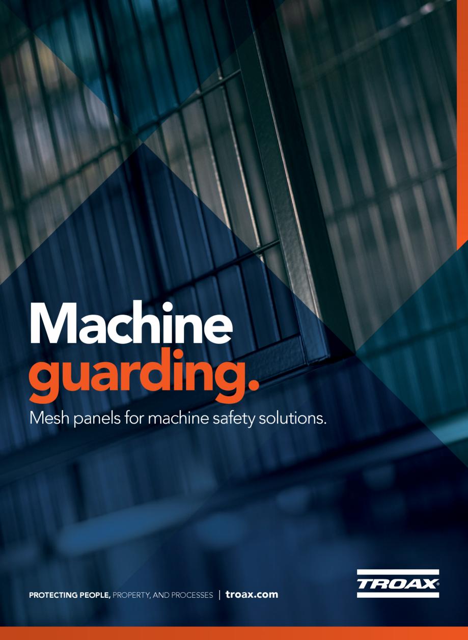 Pagina 1 - Catalog - Garduri pentru spatii de protectie a robotilor sau a utilajelor TROAX Catalog, ...