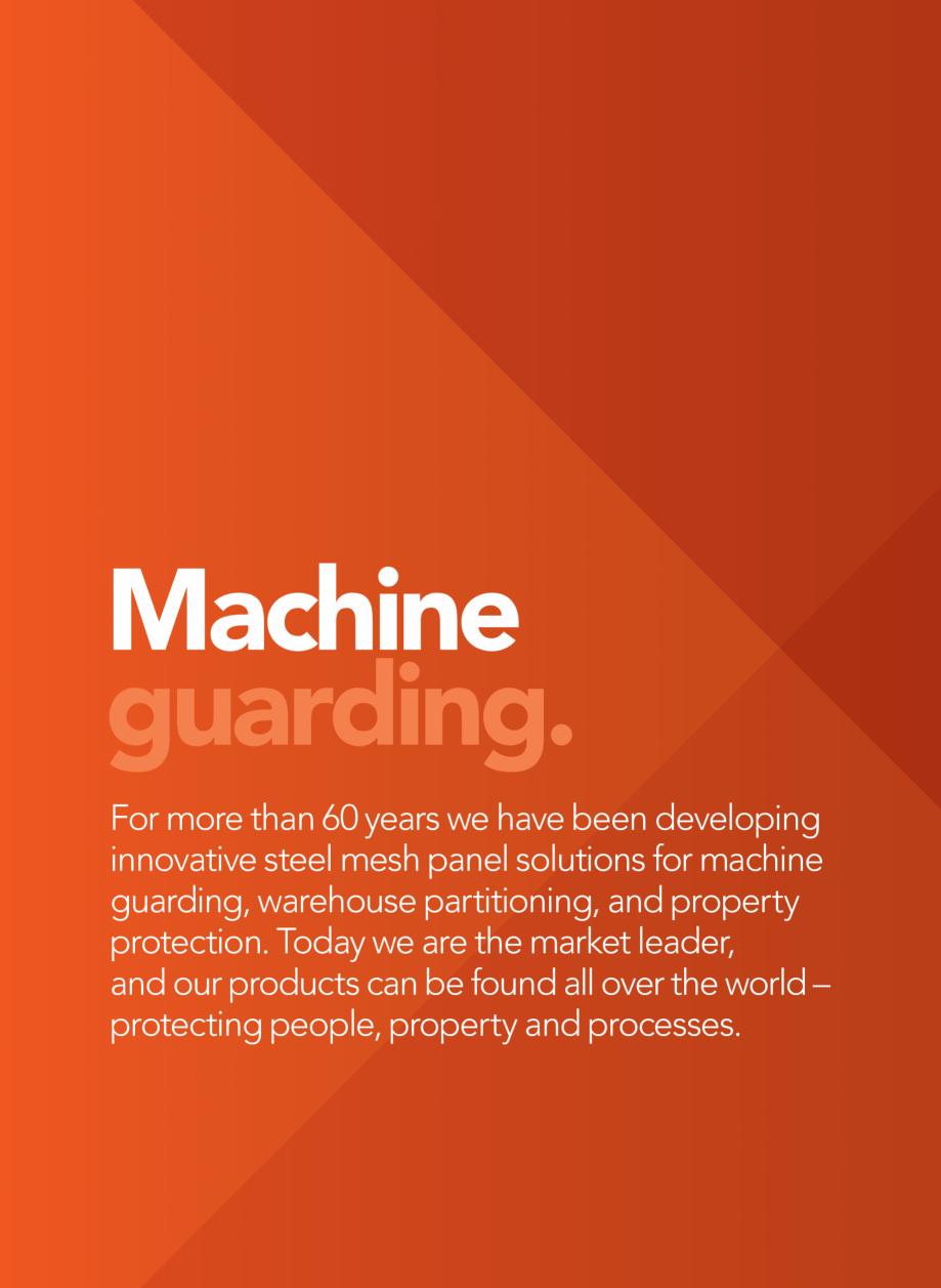 Pagina 3 - Catalog - Garduri pentru spatii de protectie a robotilor sau a utilajelor TROAX Catalog, ...