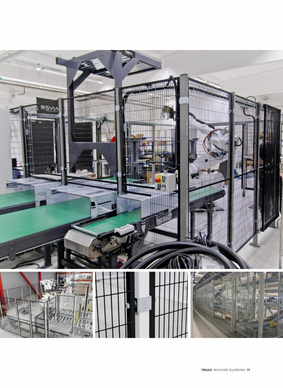 Pagina 17 - Catalog - Garduri pentru spatii de protectie a robotilor sau a utilajelor TROAX Catalog,...