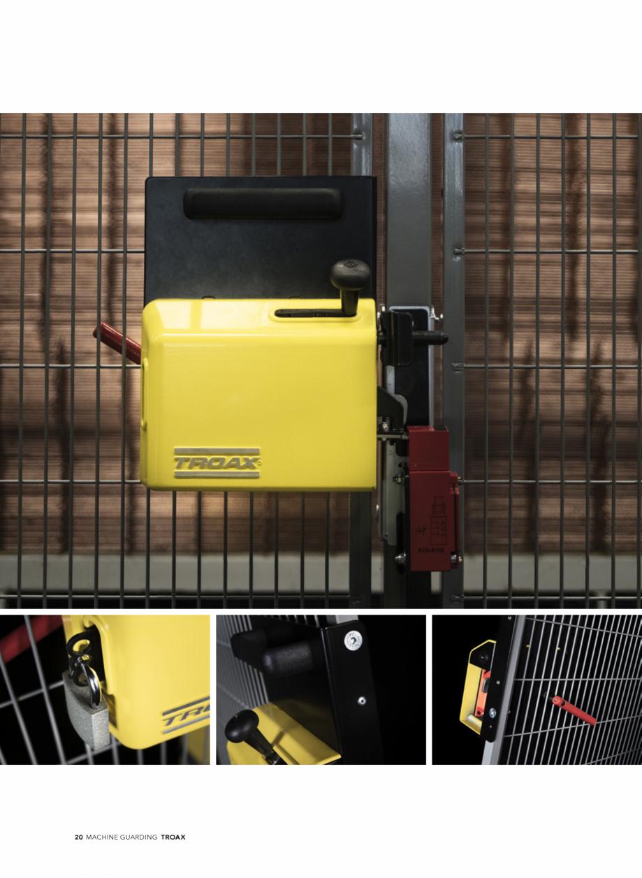 Pagina 20 - Catalog - Garduri pentru spatii de protectie a robotilor sau a utilajelor TROAX Catalog,...