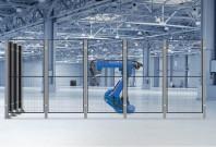 Garduri pentru spatii de protectie a robotilor sau a utilajelor