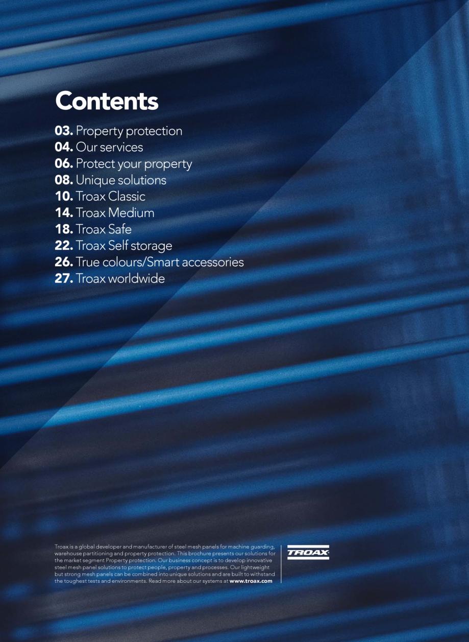 Pagina 2 - Catalog - Sisteme pentru configurarea spatiilor de depozitare  TROAX TROAX Clasic, TROAX ...