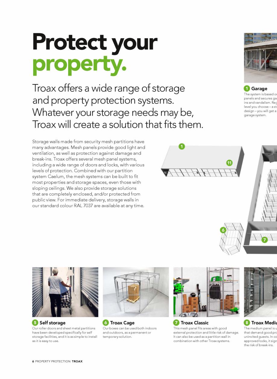 Pagina 6 - Catalog - Sisteme pentru configurarea spatiilor de depozitare  TROAX TROAX Clasic, TROAX ...