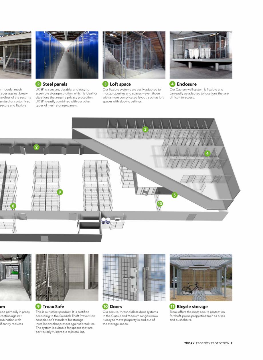 Pagina 7 - Catalog - Sisteme pentru configurarea spatiilor de depozitare  TROAX TROAX Clasic, TROAX ...