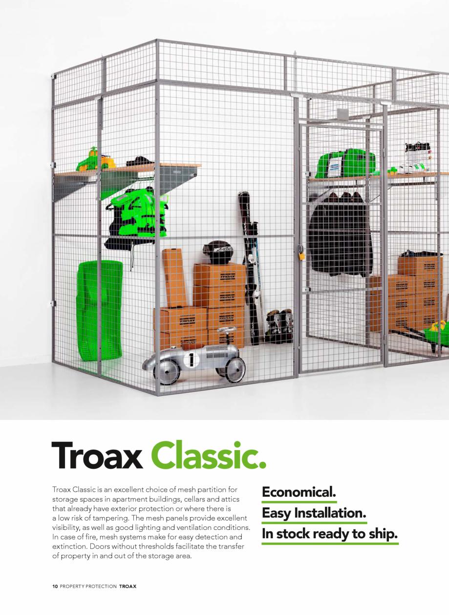 Pagina 10 - Catalog - Sisteme pentru configurarea spatiilor de depozitare  TROAX TROAX Clasic, TROAX...