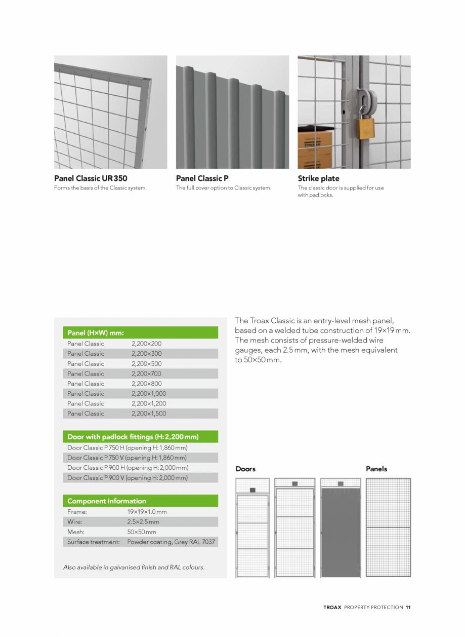 Pagina 11 - Catalog - Sisteme pentru configurarea spatiilor de depozitare  TROAX TROAX Clasic, TROAX...