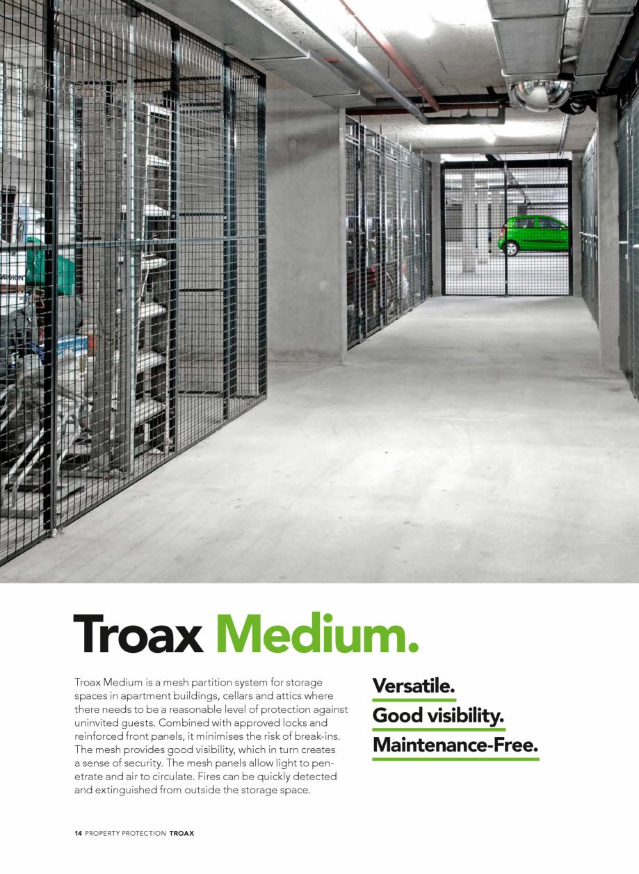 Pagina 14 - Catalog - Sisteme pentru configurarea spatiilor de depozitare  TROAX TROAX Clasic, TROAX...