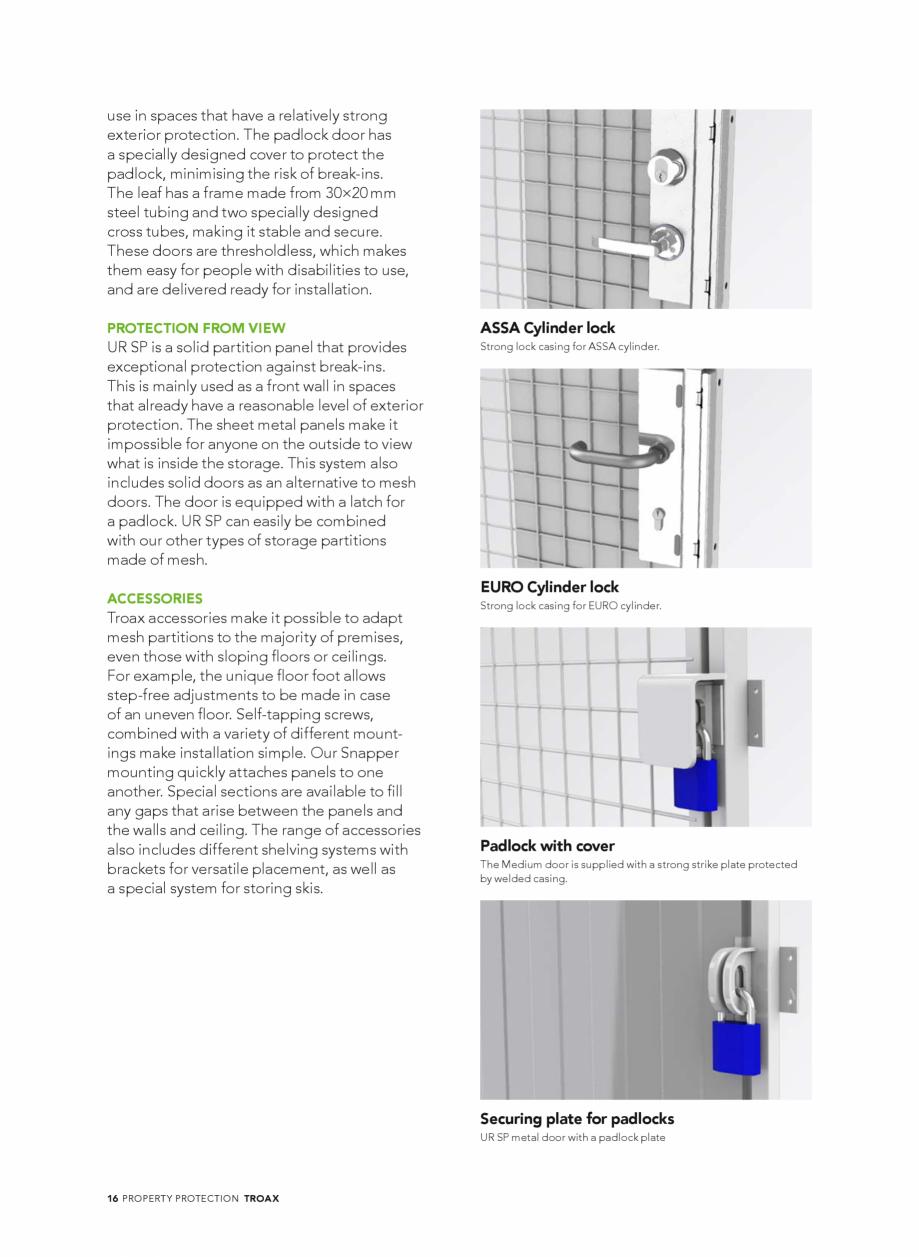 Pagina 16 - Catalog - Sisteme pentru configurarea spatiilor de depozitare  TROAX TROAX Clasic, TROAX...