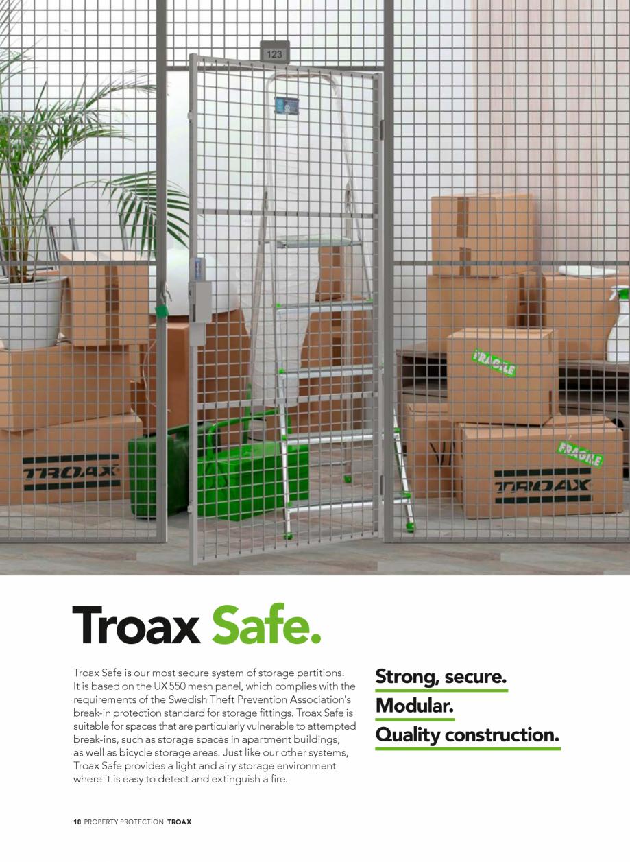 Pagina 18 - Catalog - Sisteme pentru configurarea spatiilor de depozitare  TROAX TROAX Clasic, TROAX...