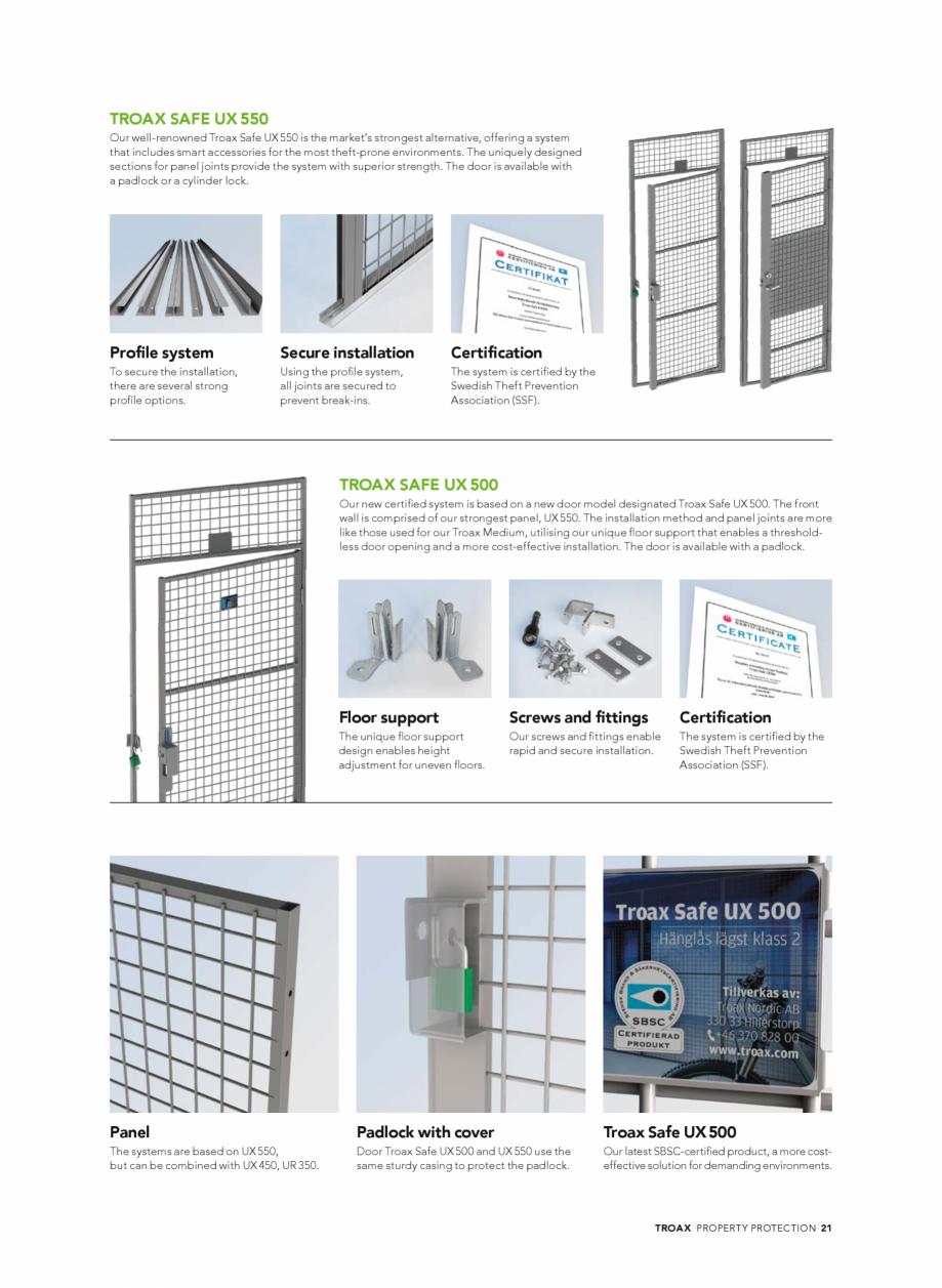 Pagina 21 - Catalog - Sisteme pentru configurarea spatiilor de depozitare  TROAX TROAX Clasic, TROAX...