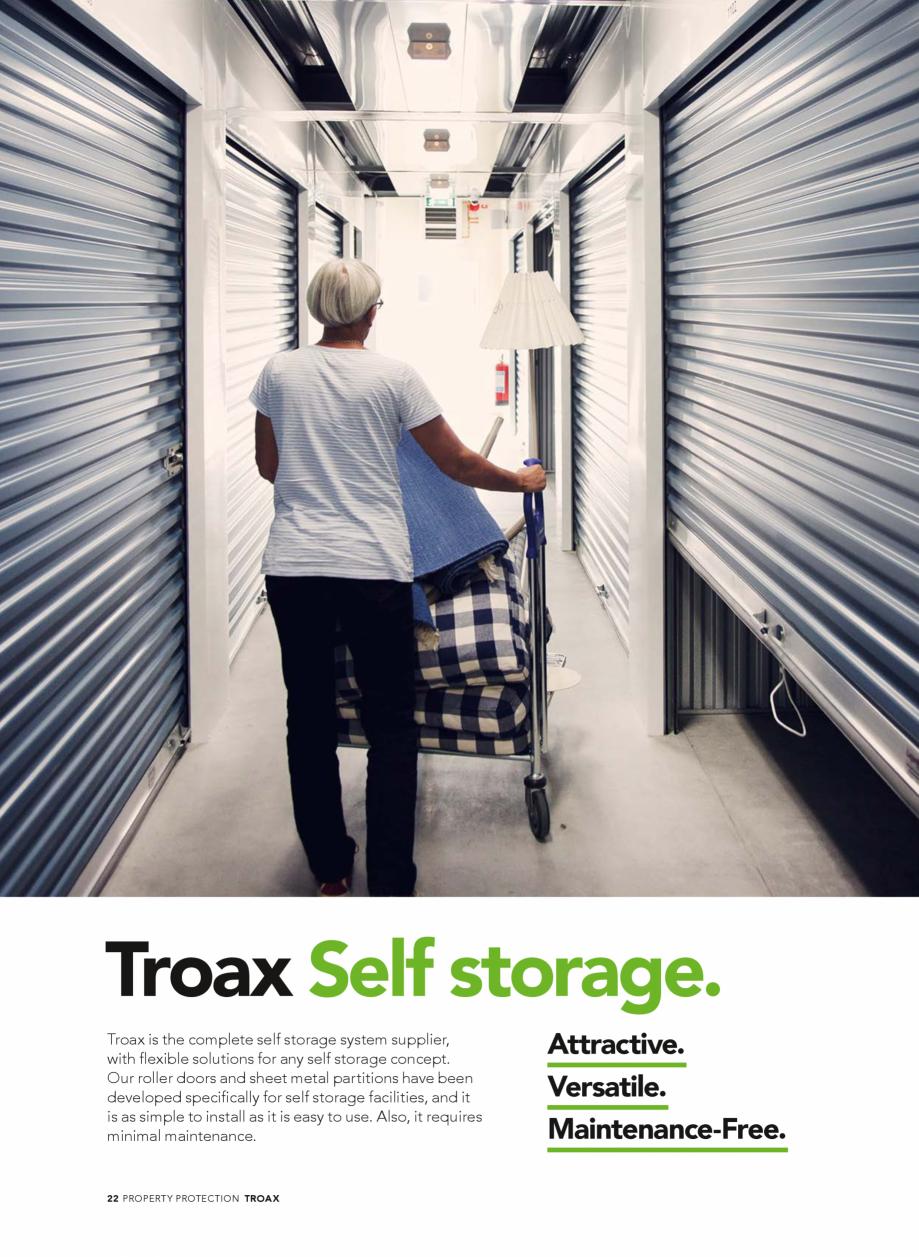 Pagina 22 - Catalog - Sisteme pentru configurarea spatiilor de depozitare  TROAX TROAX Clasic, TROAX...