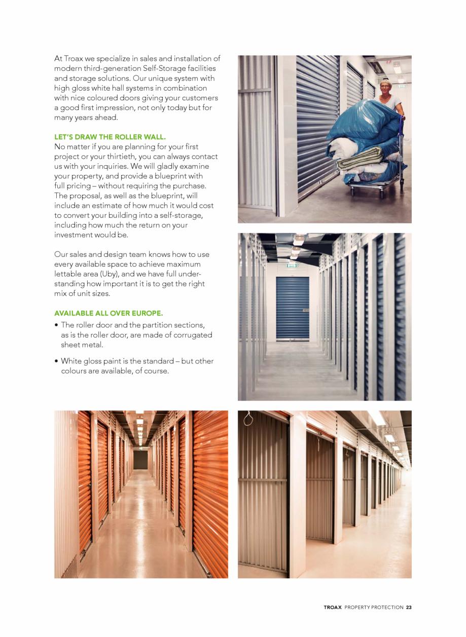 Pagina 23 - Catalog - Sisteme pentru configurarea spatiilor de depozitare  TROAX TROAX Clasic, TROAX...