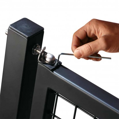 Amortizoare pentru porti metalice - detaliu SWING40 Amortizoare pentru porti metalice