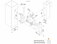 Balama fara sudura, ajustabila in 3 dimensiuni - Fisa tehnica  LOCINOX - 3DM