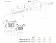 Balama cu capace de aluminiu pentru porti de gradina - Fisa tehnica  LOCINOX - GBM16-DP