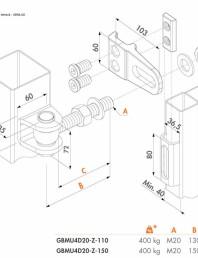 Balama cu 4 moduri de reglare - Fisa tehnica