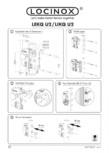 Incuietoare electrica - Instructiuni pentru montaj LOCINOX - LIKQ U2