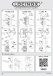 Incuietoare pentru porti - Instructiuni pentru montaj LOCINOX