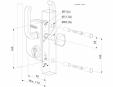 Incuietoare pentru porti culisante - Fisa tehnica LOCINOX - LSKZ U2