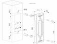 Opritor pentru porti glisante cu Quick-Fix - Fisa tehnica  LOCINOX - SSKZ QF