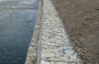 Gabioane din plasa sudata si impletita pentru stabilizarea terenurilor si malurilor Gabioanele