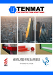 Bariere de protectie la foc pentru cavitati ventilate TENMAT - FF102/50, VFB Plus