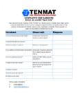 Chestionar bariere de incendiu ventilate TENMAT - VFB Plus