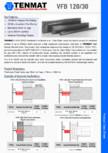 TENMAT VFB 120-30 Product Datasheet TENMAT - VFB 120/30